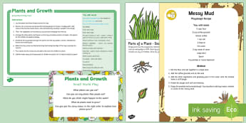 Plants and Growth Small World Play Idea and Printable Resource Pack - Plants and Growth, imaginative play, role-play, smallworld, small world