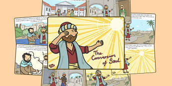 The Conversion of Saul Story - conversion of Saul, religion