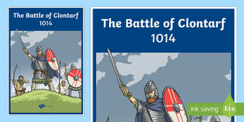 The Battle of Clontarf Large Display Poster-Irish