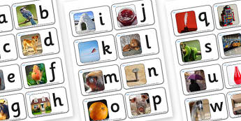 A-Z Alphabet Photo Mini Flash Cards - flash cards, flash, cards, flashcards, mini flashcards, small flashcards, mini flash cards, alphabet, alphabet small flash cards, alphabet mini flashcards, flashcard, key words, images