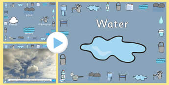 Water Video PowerPoint - water, water powerpoint, water videos, powerpoint videos of water, water interactive powerpoint, powerpoint, video powerpoint
