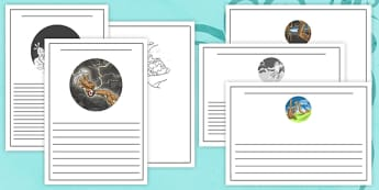 A Maori Creation Myth Writing Frames - nz, new zealand, maori creation myth, writing frames, maori