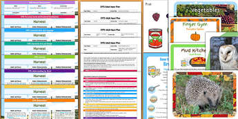 EYFS Harvest Themed Bumper Planning Pack - religion, christianity, food, resources, display, RE