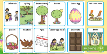 ROI Easter Aistear Display Labels - Aistear, Infants, English Oral Language, School, The Garda Station, The Hairdressers, The Airport, T