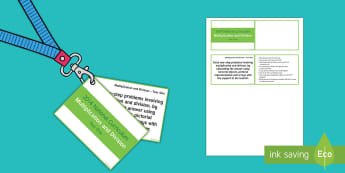 Lanyard Sized Year One Multiplication and Division Objectives Cards - Year 1, year one, assessment, multiplication and division, questions, prompts, group work, individua