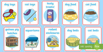 Pet Shop Display Posters - Pets, shop, price, price labels, for sale, cat, dog, rabbit, mouse, guinea pig, rat, hamster, gerbil, horse, puppy, kitten, snake, chinchilla, snail, lizard, budgie