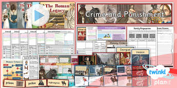 PlanIt - History LKS2 - Crime and Punishment Unit Pack - planit, history, unit, pack