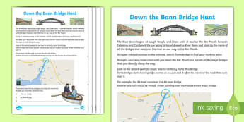 River Bann Bridge Hunt Activity