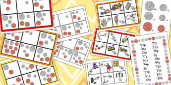 Toy Shop Bingo Up to 99p - toy, shop, bingo, 99p, toy shop, game