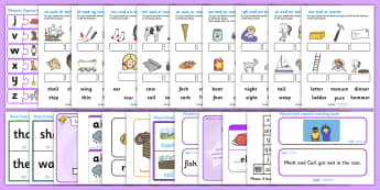 Phase 3 Activity Pack - phase, phase 3, phases, activity pack, literacy, phonics