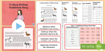 Y1 Story Writing: Traditional  Example Text - Example Texts Y1, Story Writing, Traditional Stories, exemplification, WAGOLL, exemplification, mode