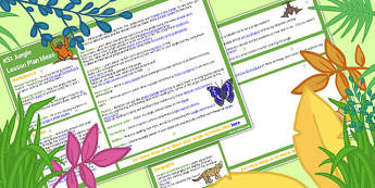 Jungle KS1 Lesson Plan Ideas - planning, idea, teaching, teach