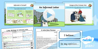PlanIt Y2 Significant Individuals: Florence Nightingale Lesson Pack Letter Writing (2)