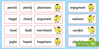 PlanIt English Year 2 Term 3A Spelling Word Cards - Spellings Year 2, Term 3A, word cards, literacy, english, writing, spelling, y2, ks1