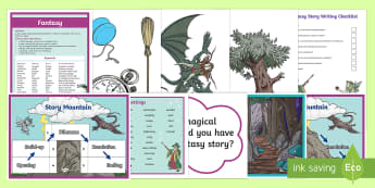 KS2 Fantasy Story Writing Resource Pack - Use this fantastic story writing pack to help children to write imaginative and detailed stories tha