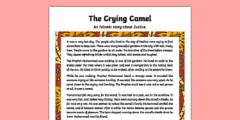 The Crying Camel Story