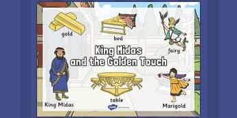 King Midas Word Mat - king midas, word mat, king, midas, mat