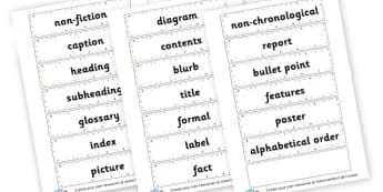Non-chronological Report Cards - KS2 Non-chronological Reports Primary Resources, Reports, KS2