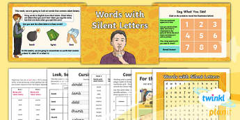 PlanIt Y5 Term 1B W1: Silent Letters Spelling Pack