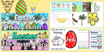 Pack d'affichage : Easter (Pâques) - Anglais LV