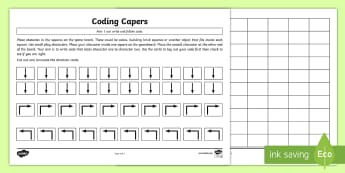 Coding Capers Game - CfE Digital Learning Week (15th May 2017), Digital learning and teaching strategy, coding, programmi