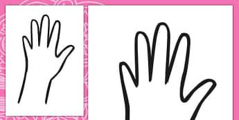 Diwali Hand Outline - diwali, hand, outline, festival, mehndi
