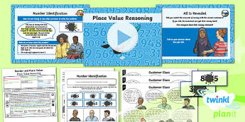 PlanIt Y6 Number and Place Value Lesson Pack Place Value (3) - Number, Place Value, digit, value, reasoning.