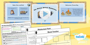 PlanIt - D&T LKS2 - The Great Bread Bake Off Lesson 1: The History Behind the Warburton's Lesson Pack
