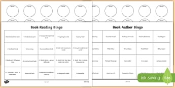 Book Reading Bingo Activity Sheet Pack - book, reading, read, bingo, activity, worksheet