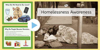 Homelessness Awareness Assembly Presentation - homelessness, awareness, assembly, presentation