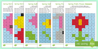 LKS2 Spring Spelling Patterns Mosaic Activity Pack - suffixes, prefixes, spellings, patterns, homophones, plural, apostrophe, Year 3, Year 4, KS2, Englis