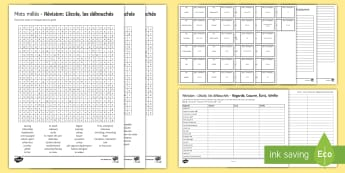 Revision on Current and Future Education and Employment Activity Sheets French - travel and tourism, vocabulary, studies, études, futur, emploi, éducation, wordsearch, differentia
