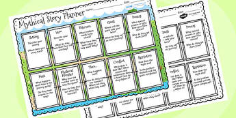 Mythical Story Planner - mythical, story, planner, myths, stories