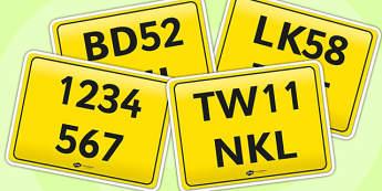 Bike Registration Plates - registration, bike registration, registration plates, bike plates, registration bike plates, register