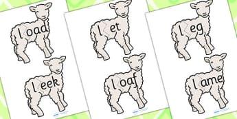 l Sound And Vowel Animal Jigsaw - sounds, vowels, jigsaw, animals