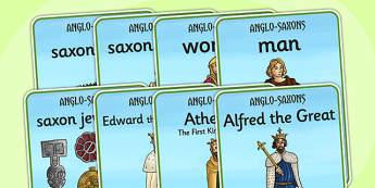 Anglo Saxons Display Posters - anglo saxons, posters, display