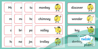 PlanIt English Year 2 Term 2B Spelling Word Cards - Spellings Year 2, Term 2B, word cards, spellings, ks1, y1, writing, english, literacy