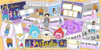 Aladdin Story Sack - aladdin, story, traditional tale, story sack