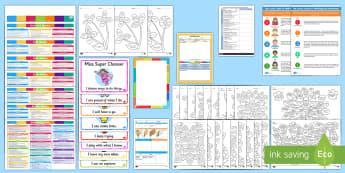 Childminder Assessment EYFS Resource Pack - child minder, EYFS, assessment, assessing, EYOs, tracker, outcomes, childminding,