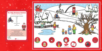 Can you Find...? Poster and Prompt Card Pack to Support Teaching on The Jolly Christmas Postman