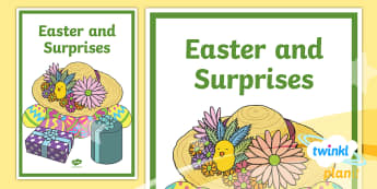 PlanIt - RE Year 1 - Easter and Surprises Book Cover  - Easter/Surprises, easter, surprises, year 1, year one, y1, y 1, ks1, key stage one, religious educat