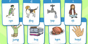 Active Literacy Phonics Programme Stage 1 Flashcards - phonic