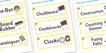 Marigold Themed Editable Additional Classroom Resource Labels - Themed Label template, Resource Label, Name Labels, Editable Labels, Drawer Labels, KS1 Labels, Foundation Labels, Foundation Stage Labels, Teaching Labels, Resource Labels, Tray Labels,