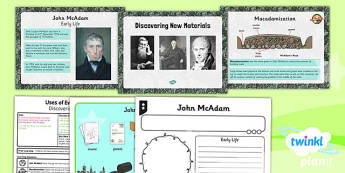 PlanIt - Science Year 2 - Uses of Everyday Materials Lesson 6: Discovering New Materials Lesson Pack