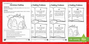 Christmas Pudding Activity Sheet - Christmas, Nativity, Jesus, xmas, Xmas, Father Christmas, Santa, traditions, Christmas Eve, angel, s