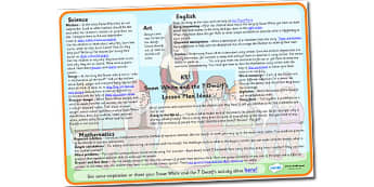 Snow White and the Seven Dwarfs Lesson Plan Ideas KS1 - snow, white, seven, dwarfs, lesson, plan, lesson plan, ideas, lesson ideas, KS1, KS1 ideas