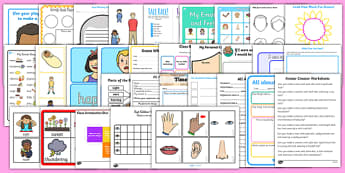 Ourselves Activity Pack - all about me, activities, games, game