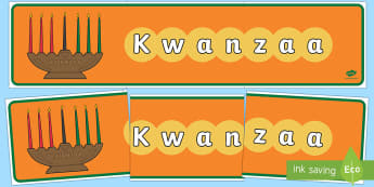 Kwanzaa Display Banner - Requests KS1, kwanzaa, africa, american, december, celebrations, festival, cultural, event, black hi