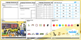 PlanIt - Intervention EAL - Basic Skills - Language Assessment, English assessment, EAL assessment