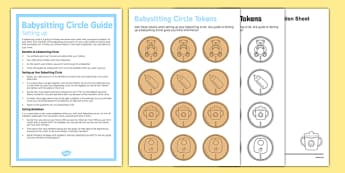 Setting up a Babysitting Circle Guide - Babysitting circle, babysitting, children